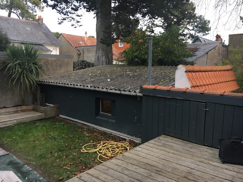 Remplacement toit par terrasse bois à La Baule