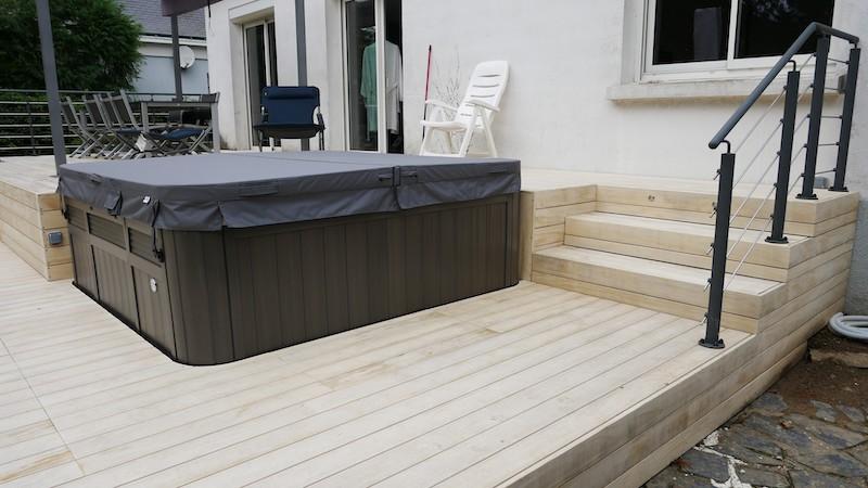 Terrasse bois à Vertou