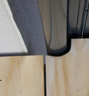 Terrasse en bois sur Poteaux à Vigneux de Bretagne