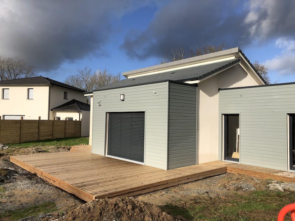 création de terrasse pour maison contemporaine