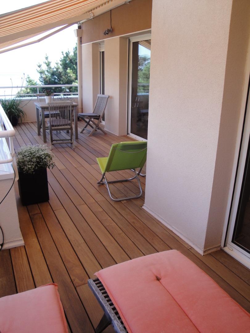 Terrasse aménagée sur toit étanche