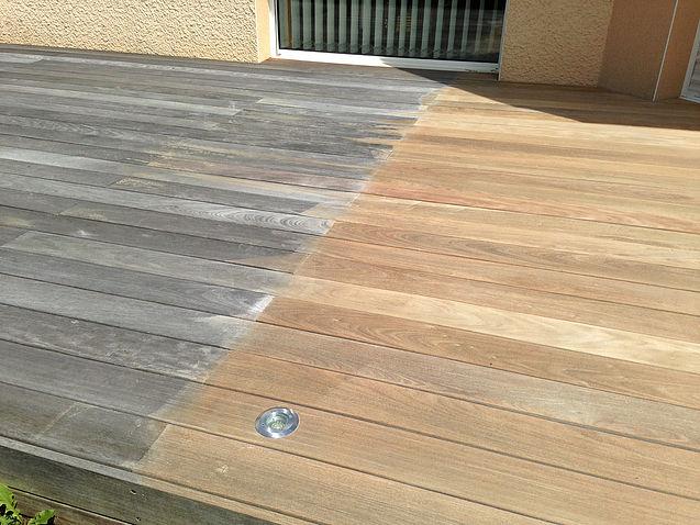 Les terrasses en bois s'abîment avec le temps