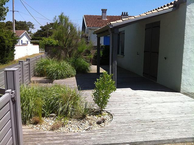 Terrasse non entretenue à Nantes
