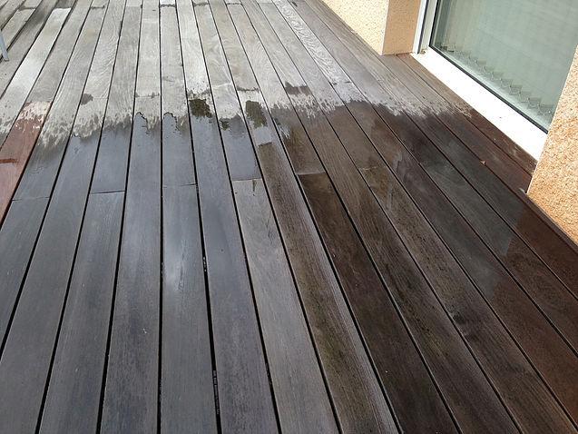 Nettoyage de terrasse en Loire-Atlantique