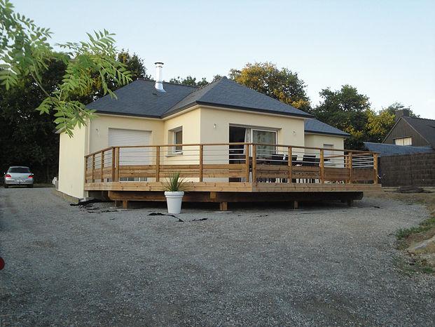 Terrasses sur poteaux à La Roche-sur-Yon