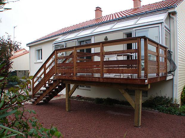 Pose de terrasse en Vendée