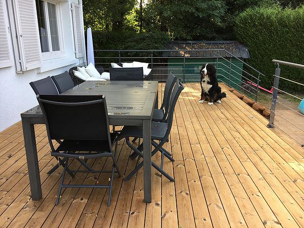 Professionnel de la terrasse vers Carquefou