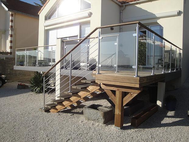 Pose d'une extension de maison à Nantes