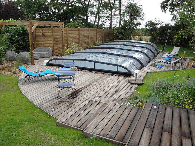 Aménagement d'un espace piscine Nantes